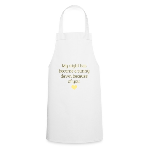 A sunny dawn - Cooking Apron