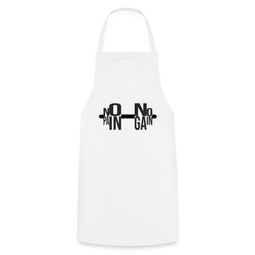 NO PAIN NO GAIN - Delantal de cocina