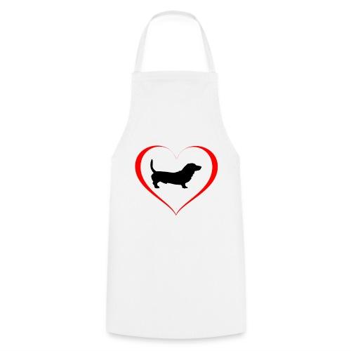 Hunde Liebe Dackel - Kochschürze