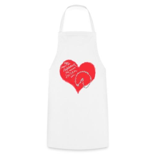 Dein Hufabdruck auf meinem Herzen - Kochschürze