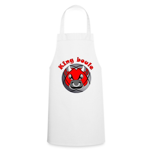 t shirt King boule roi pétanque tireur pointeur - Tablier de cuisine