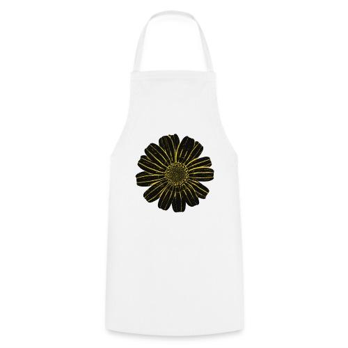 Galician Flower white 5 - Kochschürze
