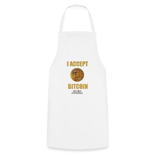 I accept bitcoin - Grembiule da cucina