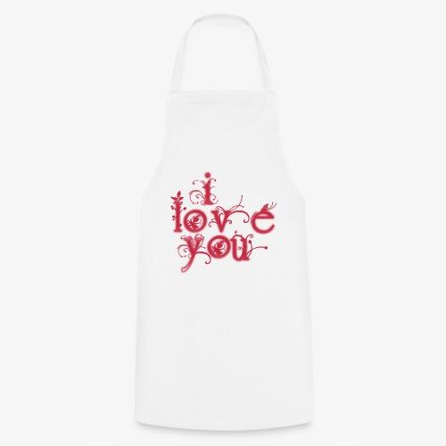 I LOVE YOU - Delantal de cocina