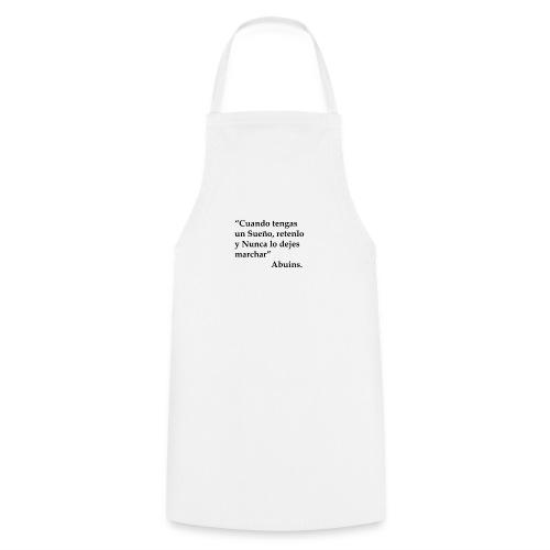 Frase camiseta Abuins 2 editado 1 - Delantal de cocina