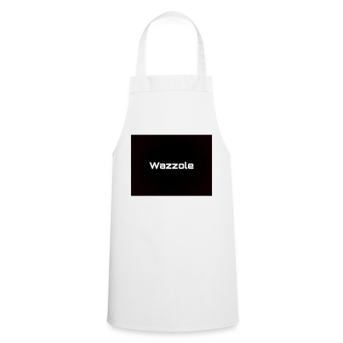 Wazzole plain blk back - Cooking Apron