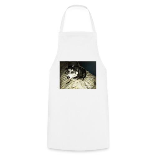 Husky möchte auch süßes oder saures - Kochschürze