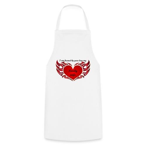 Ton amour m'enflamme le coeur - Tablier de cuisine
