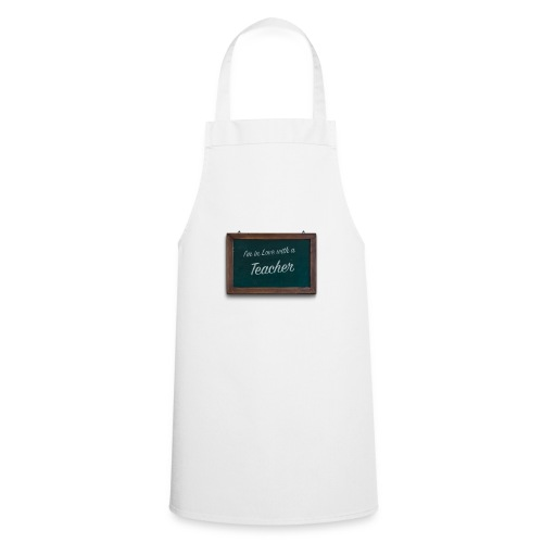 teacher valentine - Cooking Apron