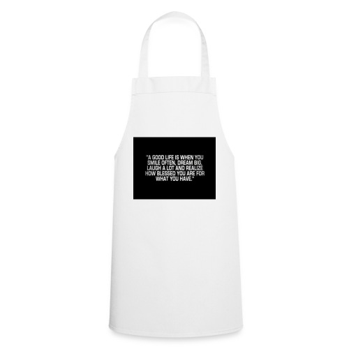 Good life - Cooking Apron