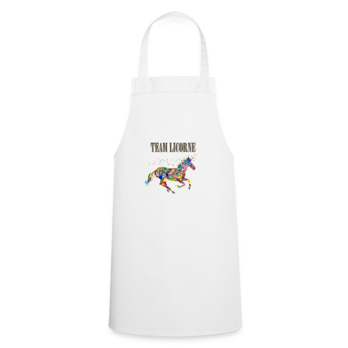 Team Licorne - Tablier de cuisine