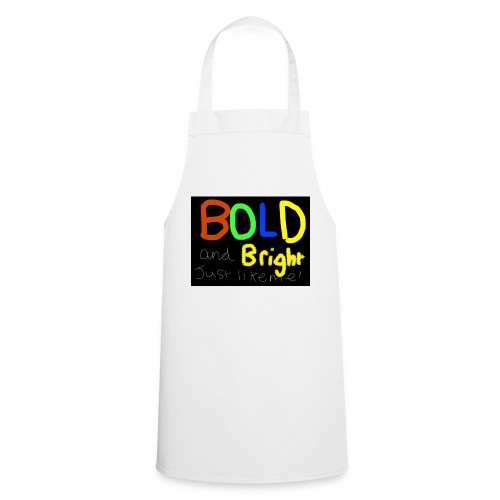 Bold and bright - Cooking Apron