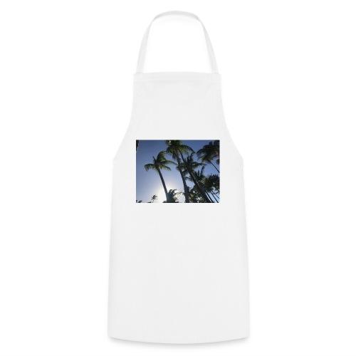 Karibik Palmen - Kochschürze