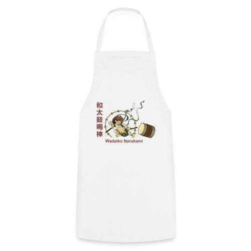 RAIIN mit Taiko, Bachi und Kanji - Kochschürze