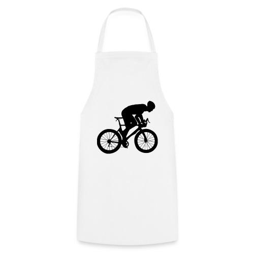 Fahrradfahrer - Kochschürze