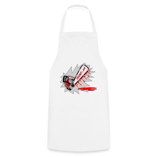 t shirt trump ...art la politique tronconneuse - Tablier de cuisine