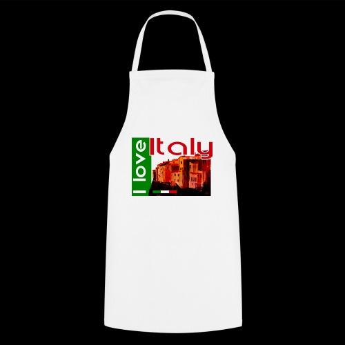 I love Italy! Trikolore - Kochschürze