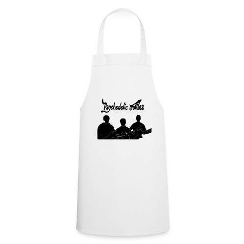 PsychedelicSilhouttes - Cooking Apron