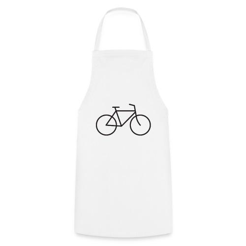 Bicycle black - Polkupyörä musta - Esiliina