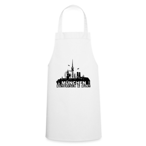MUENCHEN BAYERISCH BUNT (LOGO SW) - Kochschürze