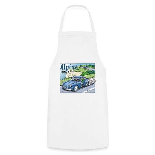 Polete en Alpine 106 - Tablier de cuisine