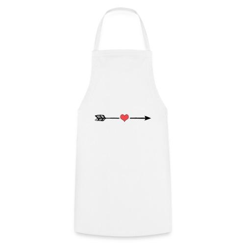 Liebes Pfeil - Kochschürze