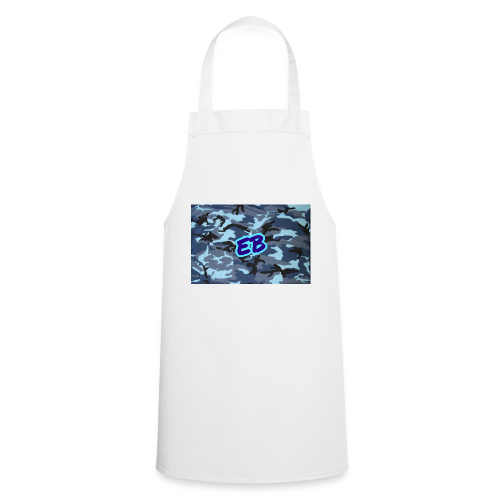Ellibradyoffical blue camo - Cooking Apron