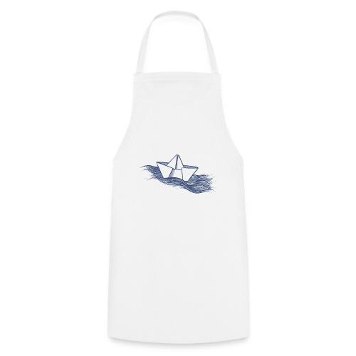 Schiff dunkelblau - Kochschürze