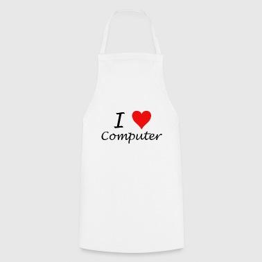 Kocham komputer - Fartuch kuchenny