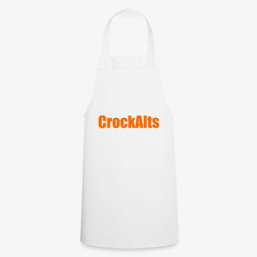 CrockAlts In Orange. - Cooking Apron