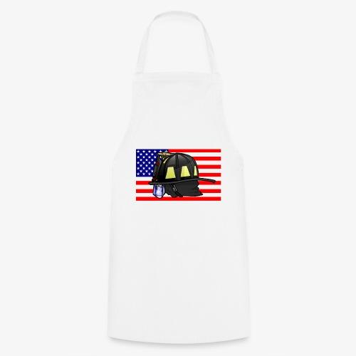 Casque pompier américain - Tablier de cuisine