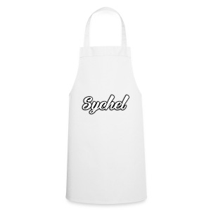 Sychel Handwriting Logo - Cooking Apron