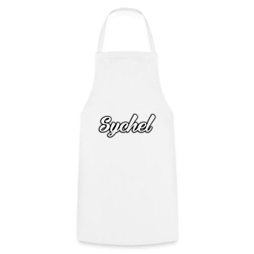 Sychel Handwriting Logo - Cooking Apron