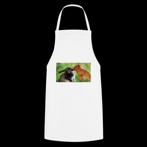 Zwilling kaninchen T-shirt - Kochschürze