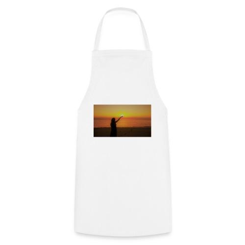 femme coucher de soleil - Tablier de cuisine
