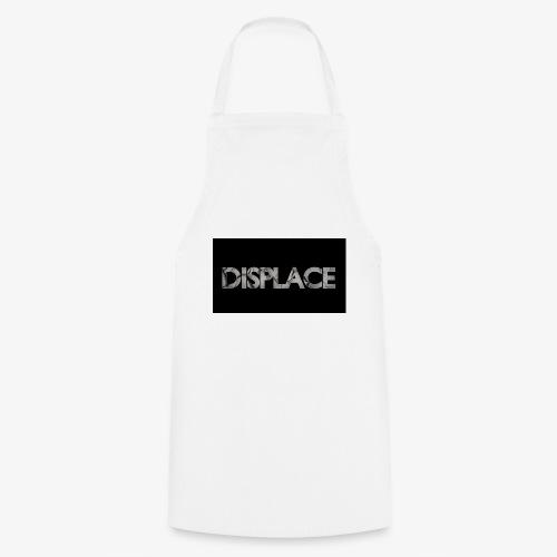 Displace Cracked Black - Kochschürze