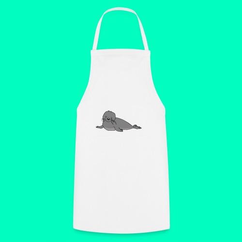 Süße Robbe - Kochschürze