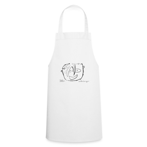 The Face Zoomed | Peter Eric Lang - Cooking Apron
