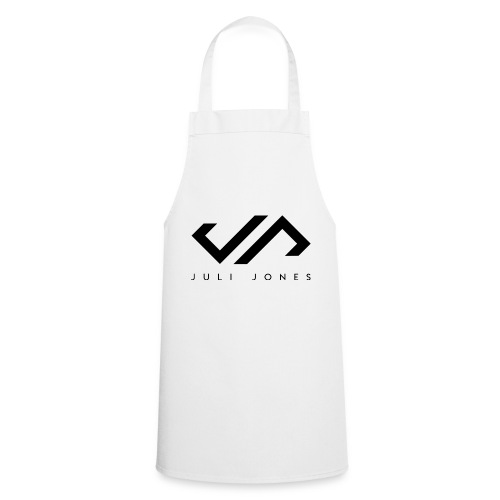 JuliJones Logo black - Kochschürze