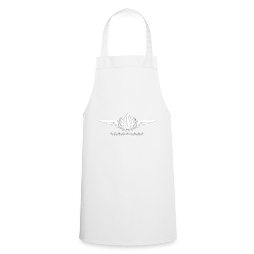 OPT Logo weiß - Kochschürze