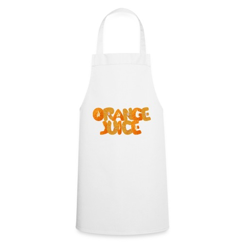 orange juice - Tablier de cuisine