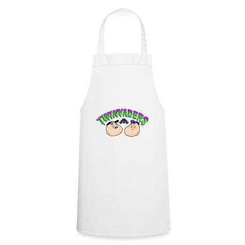 Twinvaders Logo - Cooking Apron