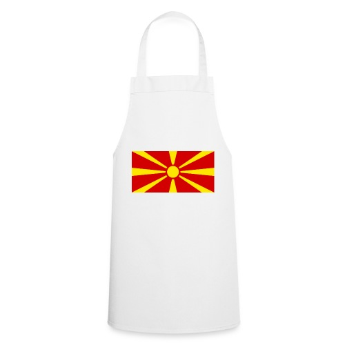 Macedonia Flag - Kochschürze