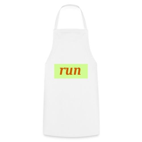 run - Kochschürze