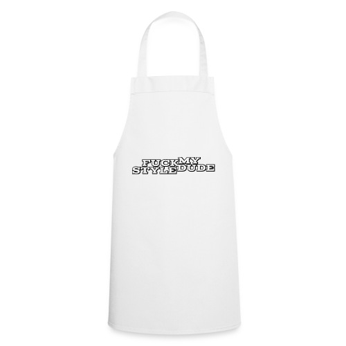 White T-Shirt - FMSD - Cooking Apron