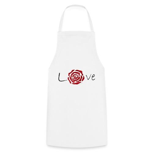 Rose-Love - Tablier de cuisine