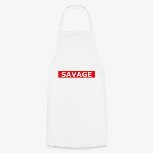 Savage Boxlogo - Kochschürze