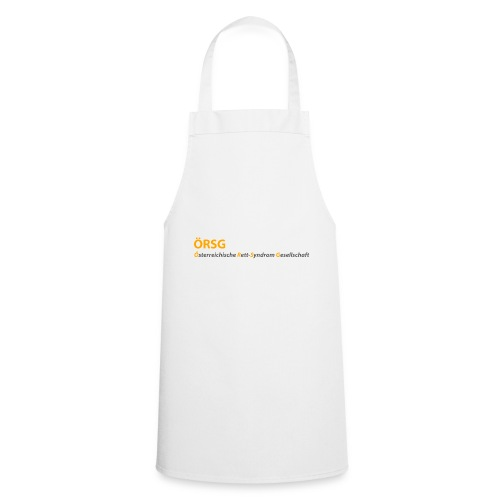 Text-Logo der ÖRSG - Rett Syndrom Österreich - Kochschürze