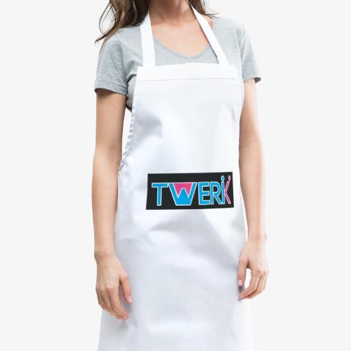 Logo TWERK con W riempita di Rosa - Grembiule da cucina