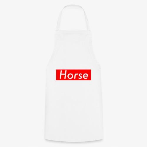 Horse boxlogo - Keukenschort